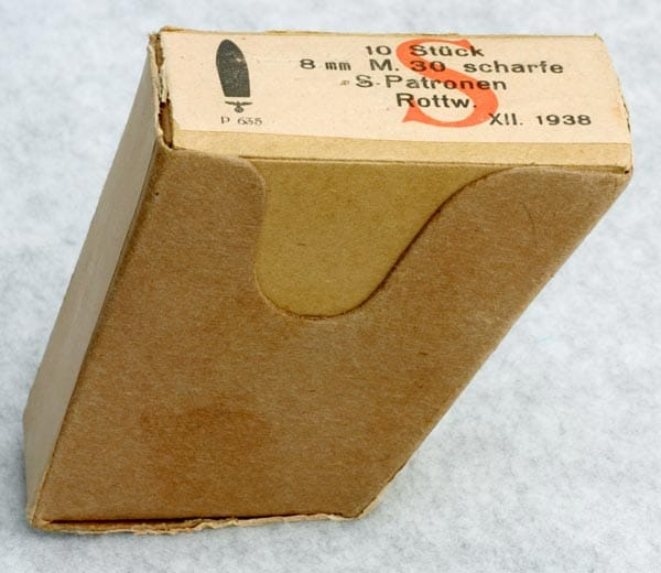 Most 8x56 Stery ammunition around today that is still in the box is left over from WWII.