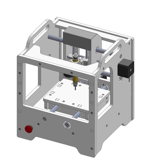 Diagram of Othermill unit.