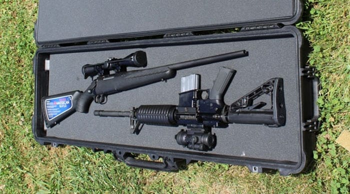 pelican dual rifle case