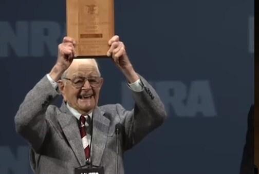 Wayne Burd, NRA's oldest life member. (Photo credit: Twitter)