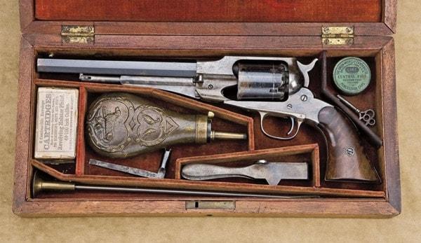 Remington 1858 still in the box