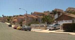 The Alta Vista neighborhood that was targeted by burglars. (Photo credit: Fox 5, San Diego)