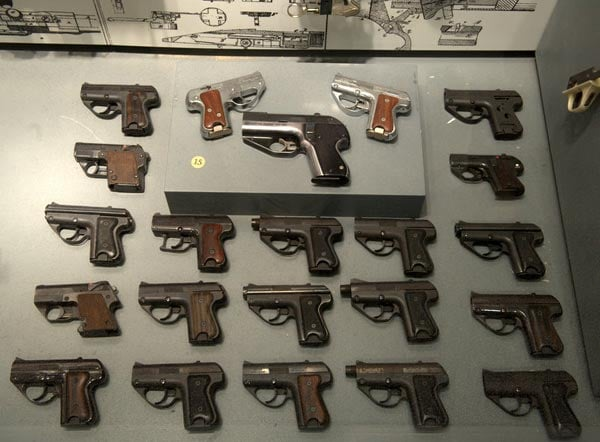Semmerling display at the National Firearms Museum.