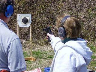 More women are inquiring about conceal carry certification (Photo credit: Heartland Training Team)