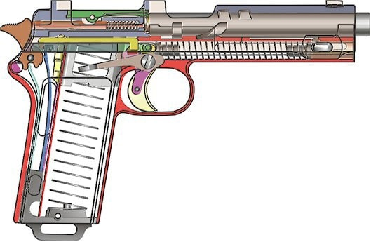 Stery M1912 diagram