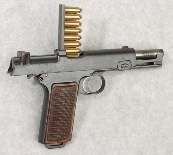 The Austrian Steyr-Hahn M1912 Pistol: 'Like If Picasso