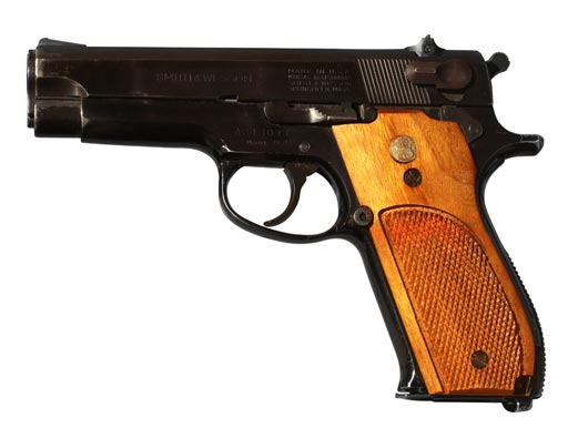S&W Model 39, the basis for the ASP 9
