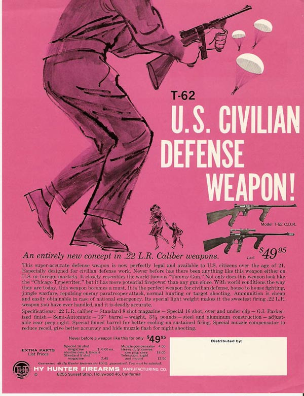 t62 magazine advertisement