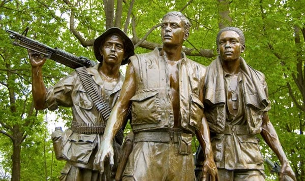 The Three Soldiers Memorial