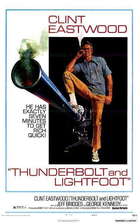 Thunderbolt and Lightfoot movie poster.