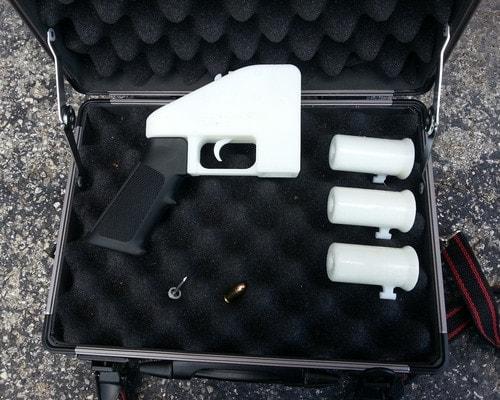 3d printed handgun assembled