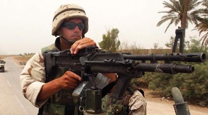 The M60 Machine gun: And they called it 'The Pig'