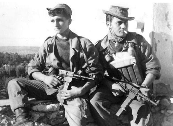 French Commandos with MAT 49
