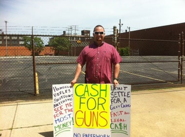 Don't settle for a gift card. Cash for Guns. (Photo credit: Cleveland.com)