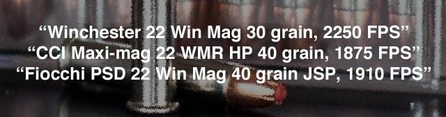 22 Magnum Tests