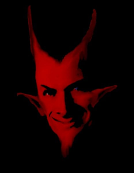 Does Satan support the Second Amendment? (Photo credit: Diablorex/ Wikimedia)