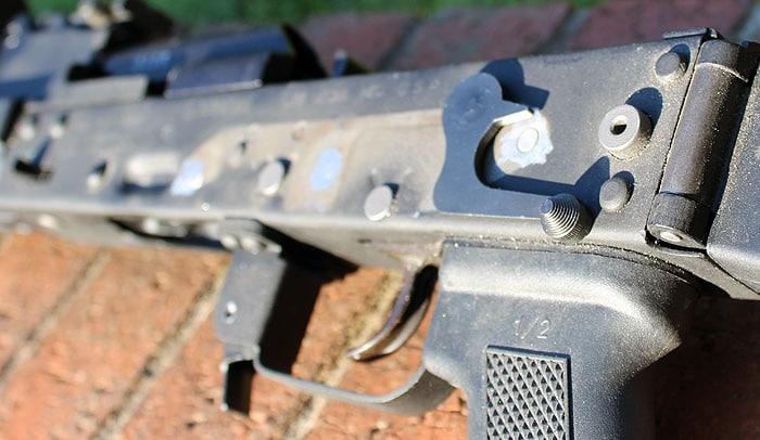 AK Safety on rifle