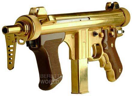 Beretta PM12-S in gold