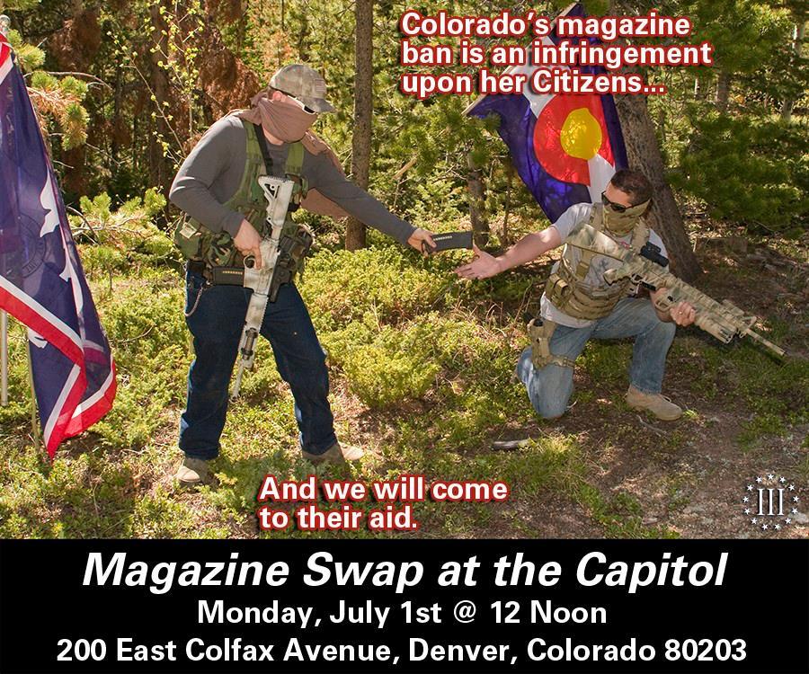 Colorado Mag Swap at the Capitol
