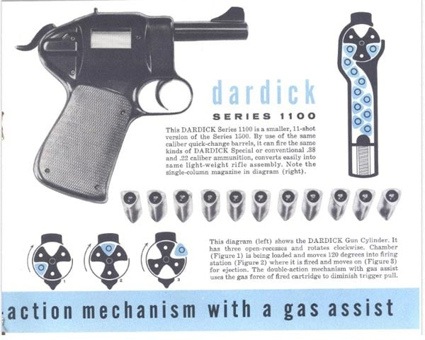 basic function of Dardick tround and revolver