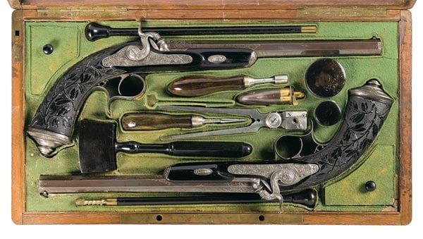 Gastinne Renette French dueling pistols