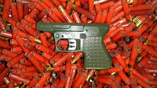 Heizer Defense Prepping the 'Pocket Shotgun'  410 Derringer for Launch