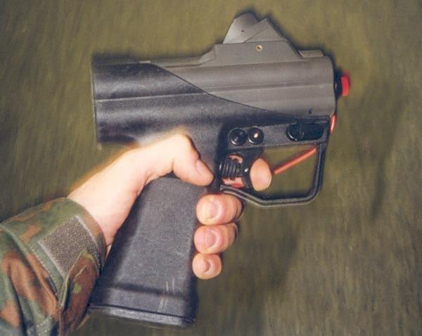 HK P11 underwater pistol