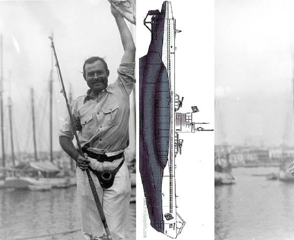 Papa never did catch that u-boat.