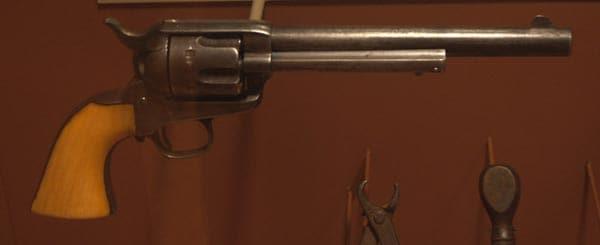 Jesse James Colt 1873 revolver