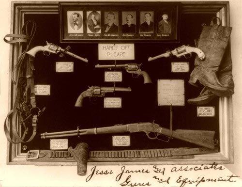 Jesse James guns 1921