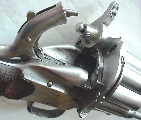 2nd Model LeMat revolver