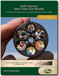 First-time gun buyer study conducted by the NSSF. (Photo credit: National Shooting Sports Foundation)
