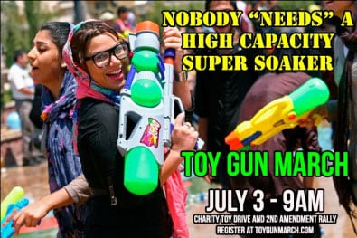 """Nobody """"needs"""" a high-capacity Super Soaker (Photo credit: Toy Gun March)"""