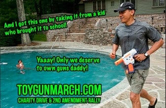 This recently tweeted picture raised some eyebrows. (Photo credit: Toy Gun March)