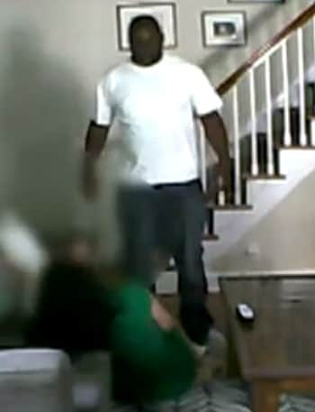 The woman's attacker showed no mercy, even with a 3-year-old girl watching. (Photo credit: News 12)