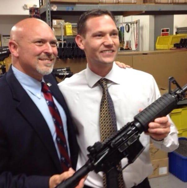 South Carolina representative Alan Clemmons and Mark Malkowski