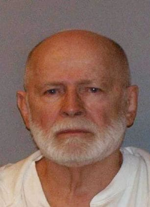"""File booking photo of former mob boss and fugitive James """"Whitey"""" Bulger, who was arrested in Santa Monica in 2011"""
