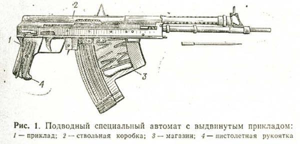 APS rifle sketch