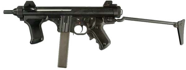 Current model Beretta PM12-S2 with skeleton stock.