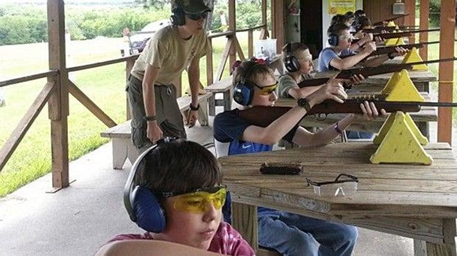 boy scouts shooting