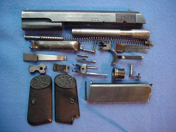 Browning FN 1903 internals