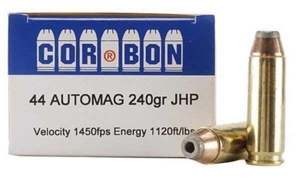Corbon .44 Automag ammunition.