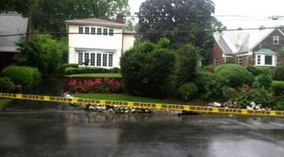Two burglars broke into the home of a retired Department of Homeland Security agent on Friday. (Photo credit: DNAinfo)