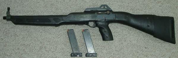 Hi Point carbine.