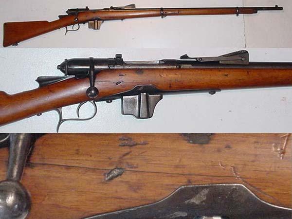 Italian Vett rifle