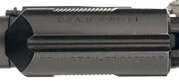 Remington roll marks on Pedersen device