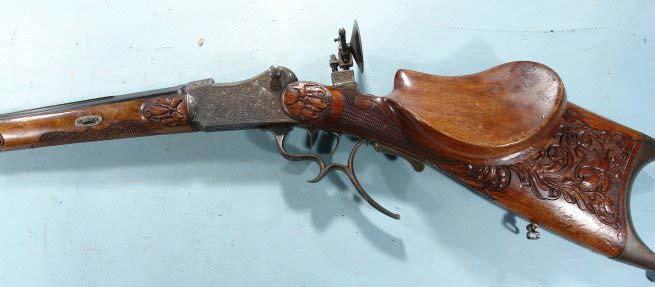 Martini-Schuetzen rifle.