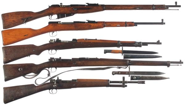 Mosin-Nagant rifles