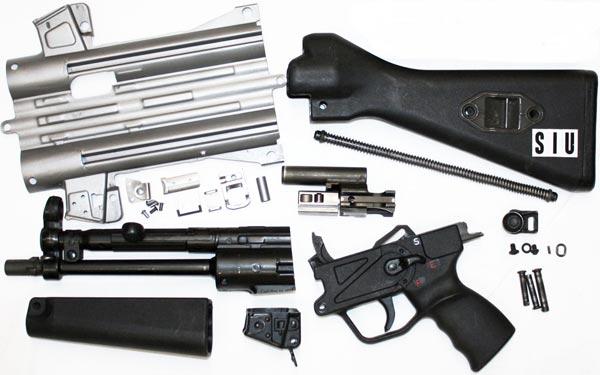 MP5 parts kit.