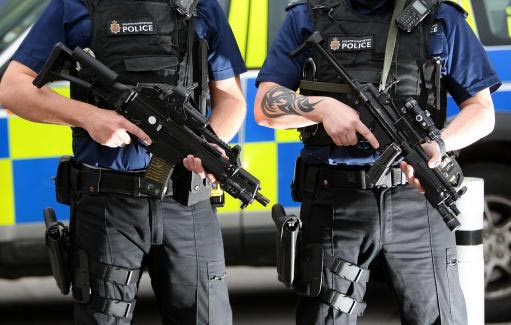 Police MP5 variants